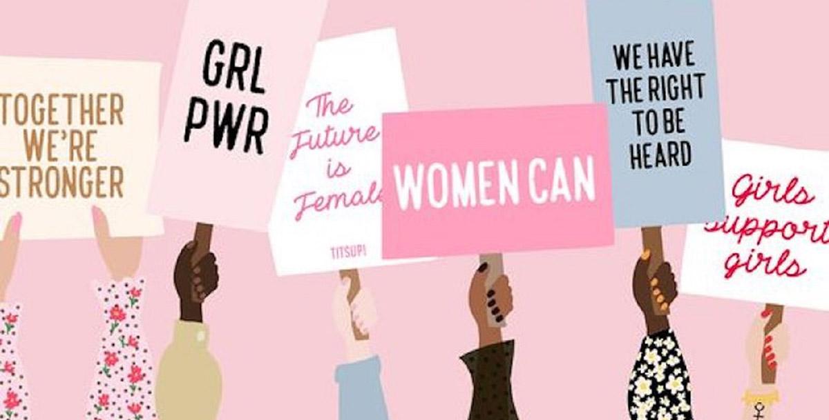 L'empowerment et le leadership illustré par une illsutration de bras avec des pancarte de motivation